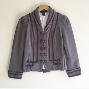 Marc Jacobs Military Double Breasted Jacket